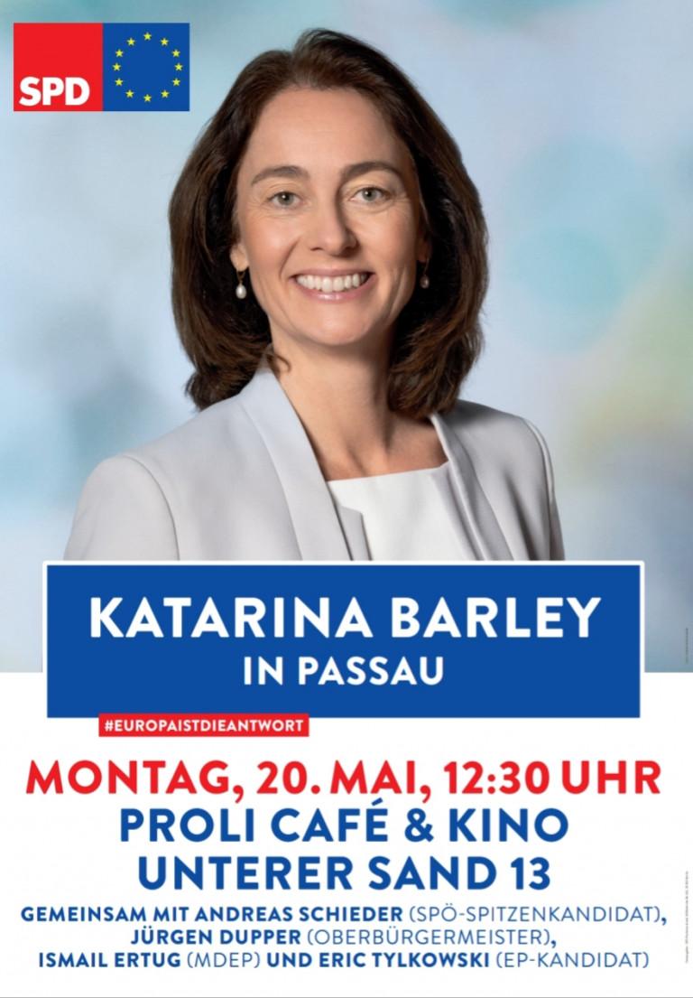 Katarina Barley in Passau