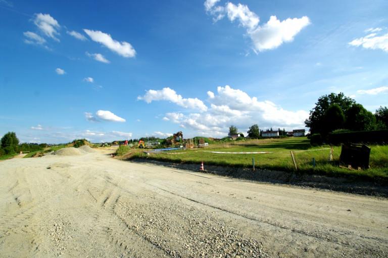 Panorama Baugebiet Thann